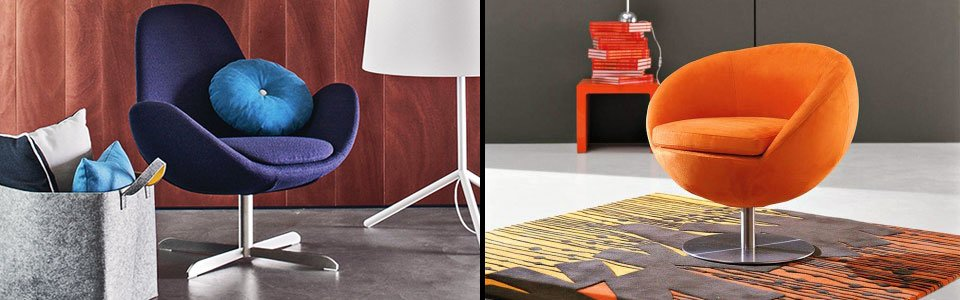 Poltrone moderne arredamento online abitastore - Poltrone moderne design ...